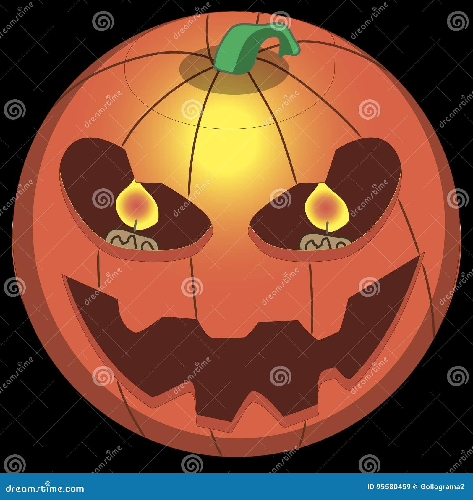 Monster emoji smiley face Halloween pumpkins