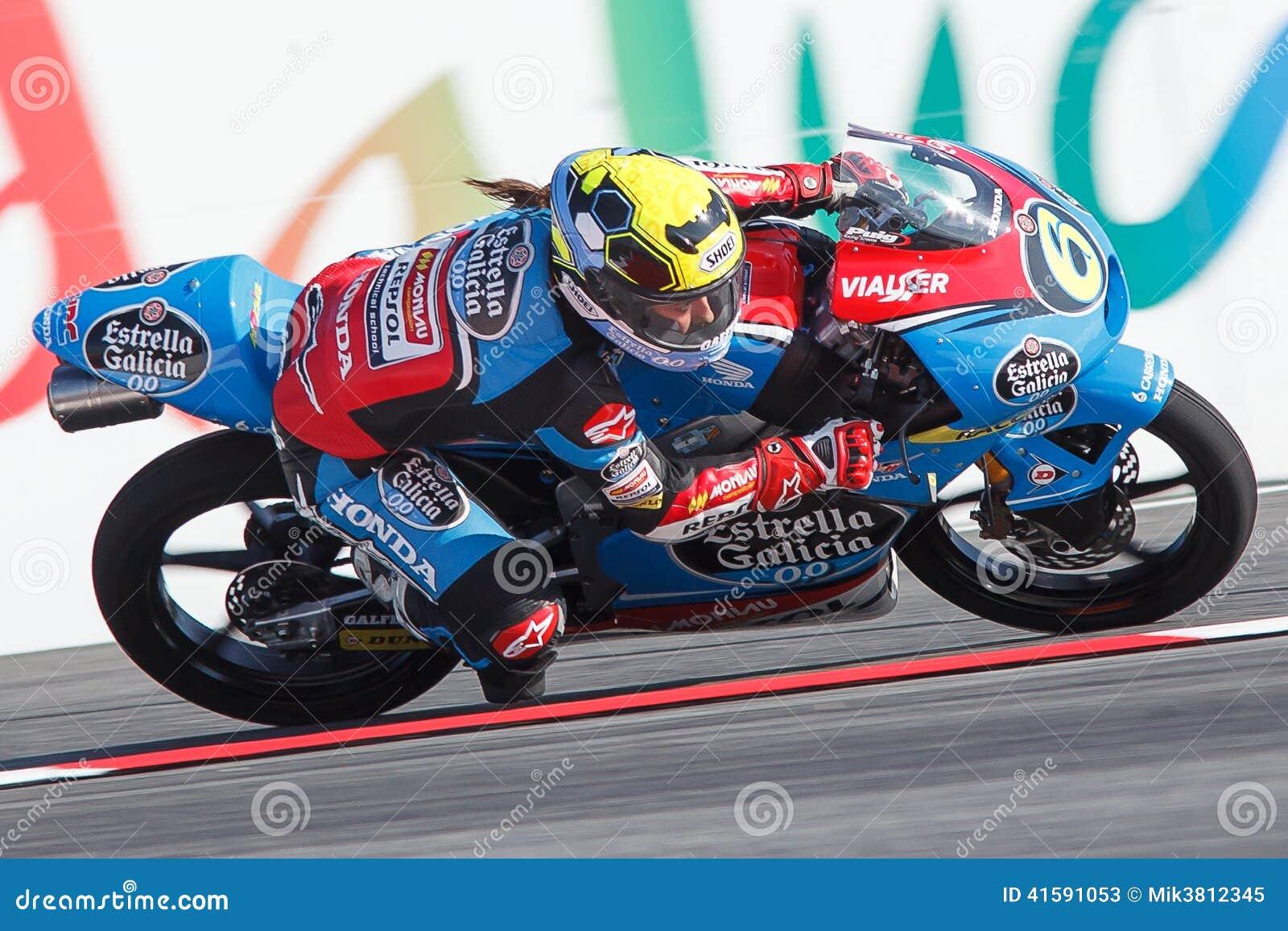 Monster Energy Grand Prix Of Catalunya MotoGP. Driver Maria Herrera. Estrella Galicia Team ...
