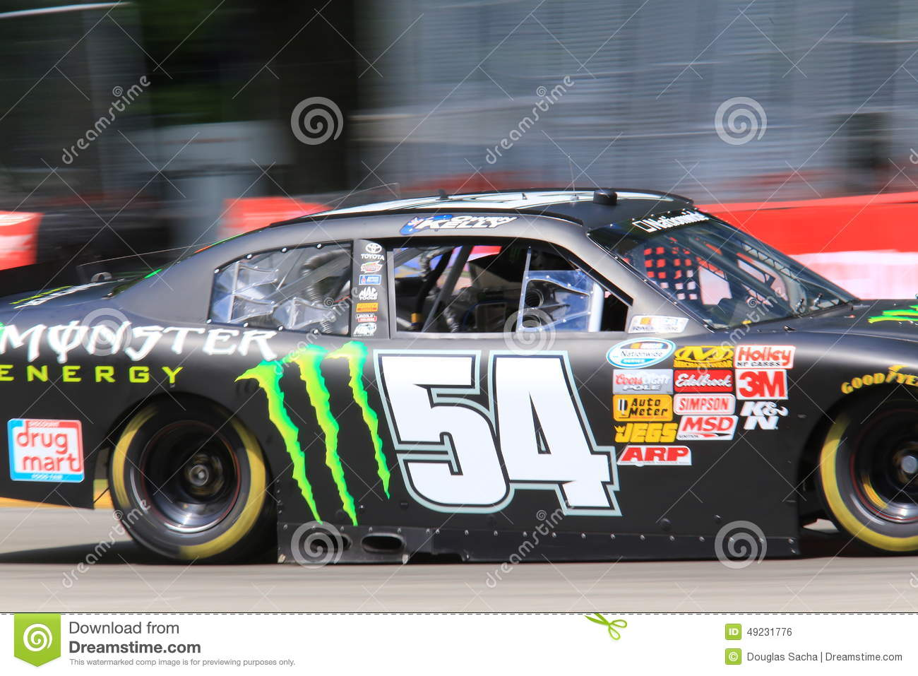 Who Drives The M M Car In Nascar