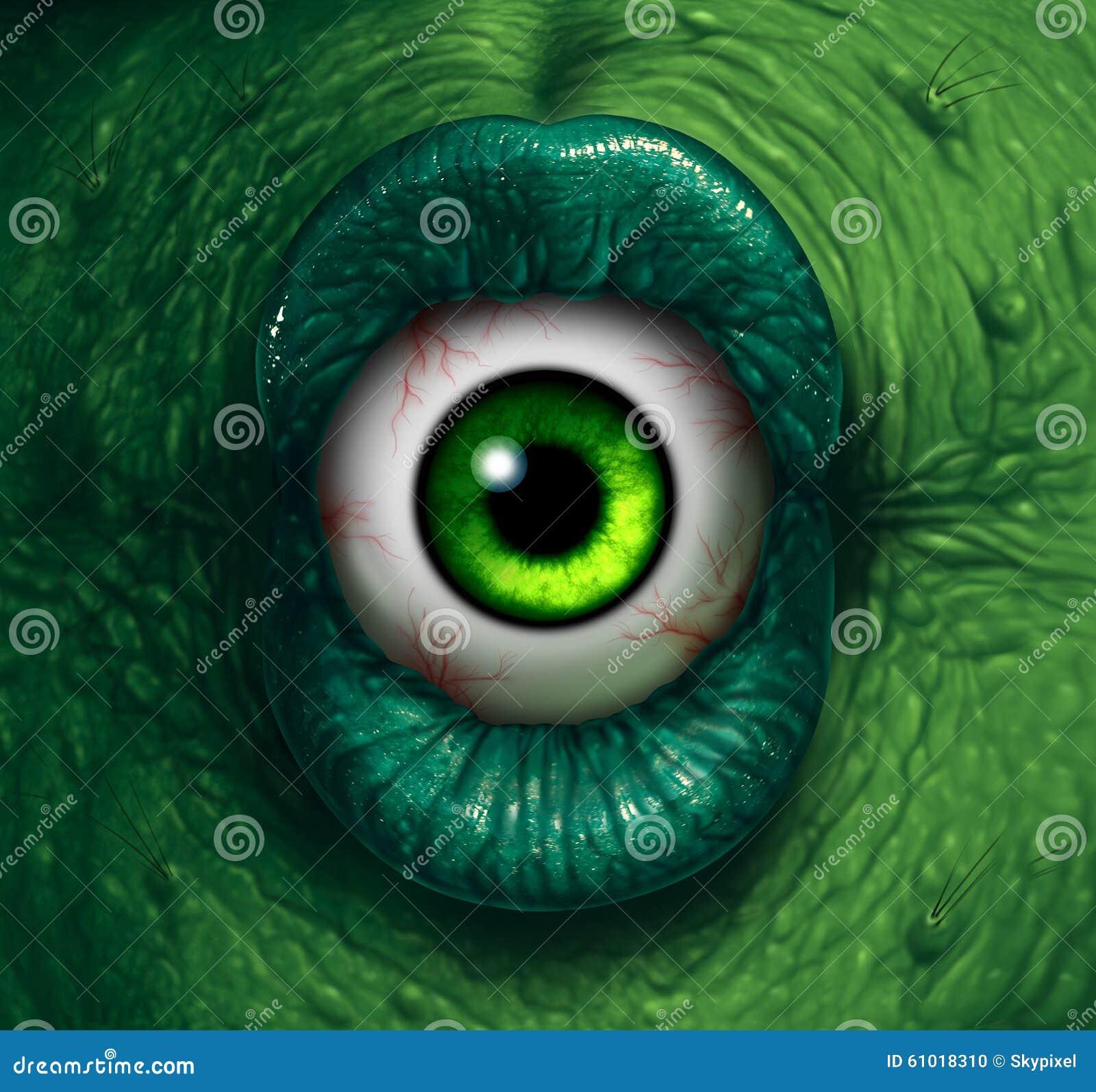 Monster Eye Stock Illustration - Image: 61018310