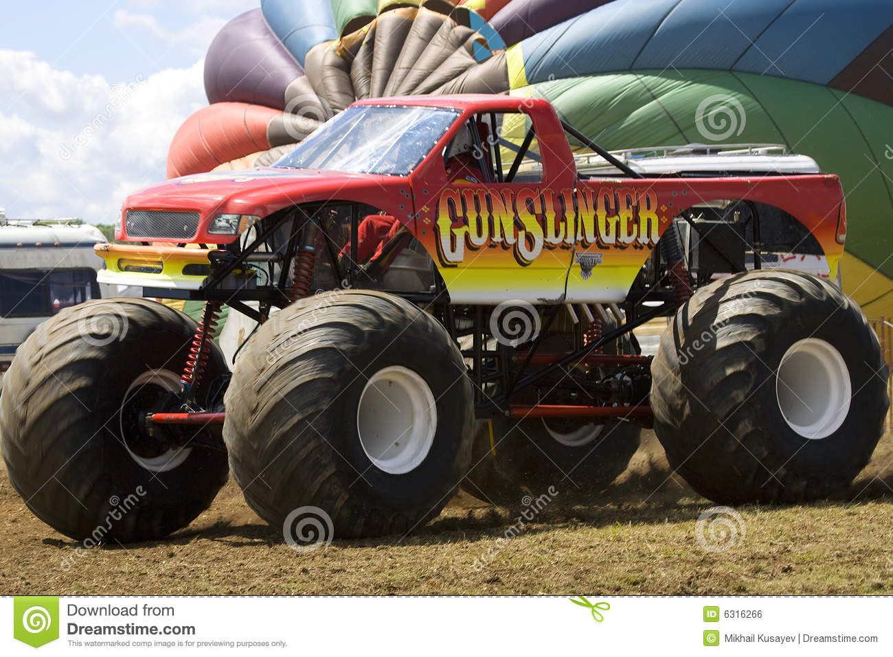 Maximum Destruction Monster Truck Editorial Photo Image