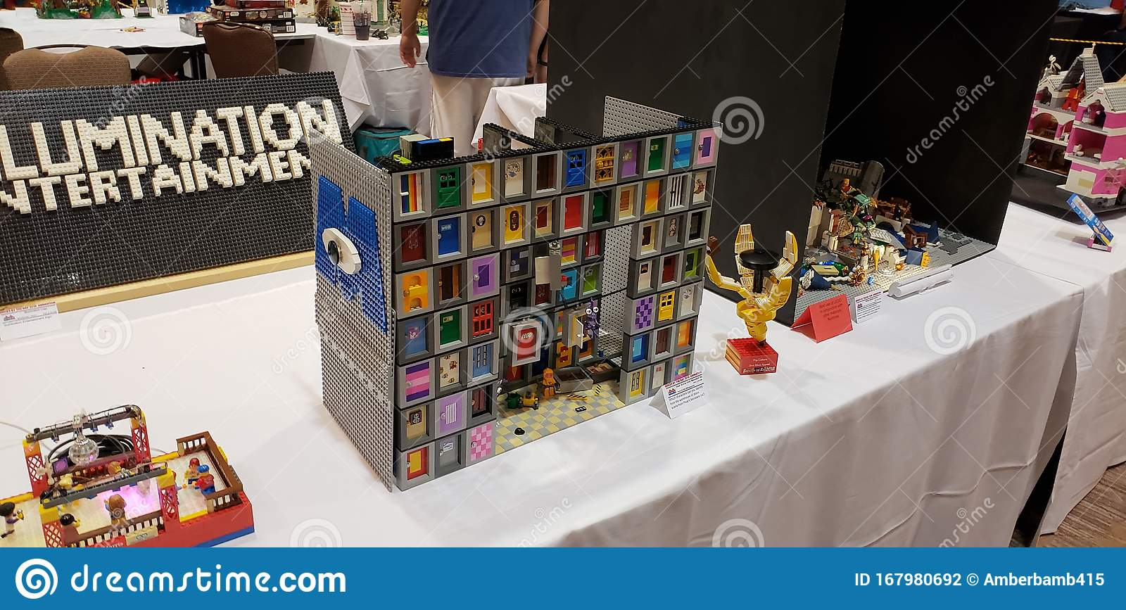Monsters Inc Doors Pixar Disney Lego Convention Editorial Photography Image Of Doors Convention 167980692