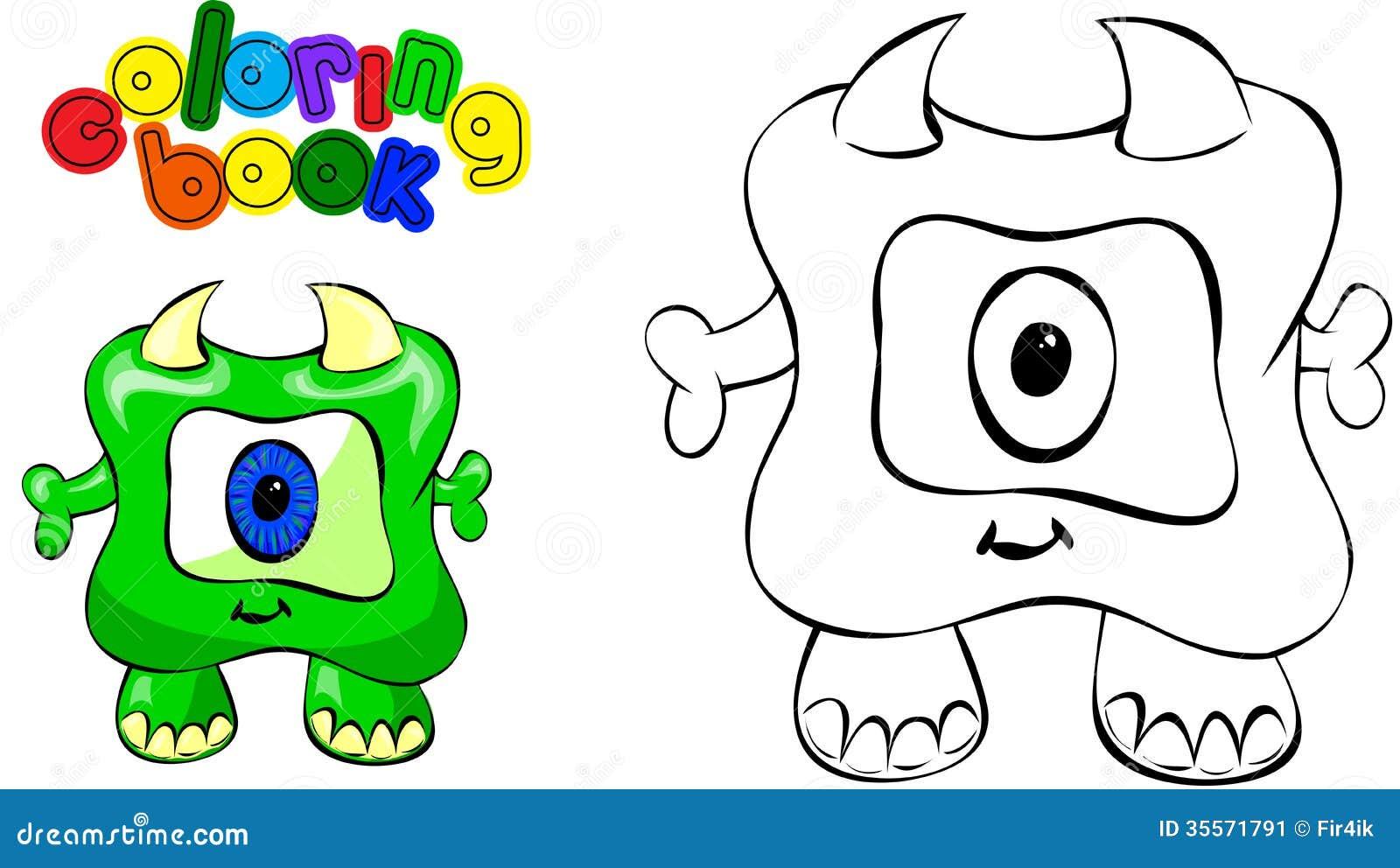 Excepcional Libro De Colorear De Monstruo Alto Patrón - Dibujos Para ...