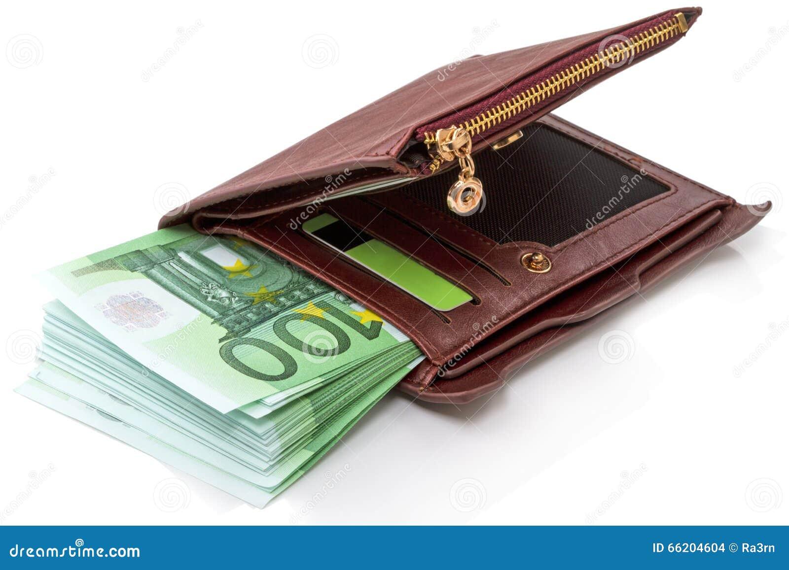 venta minorista imágenes detalladas promoción especial Montón De Cientos Euros En Billetes De Banco En Una Cartera ...