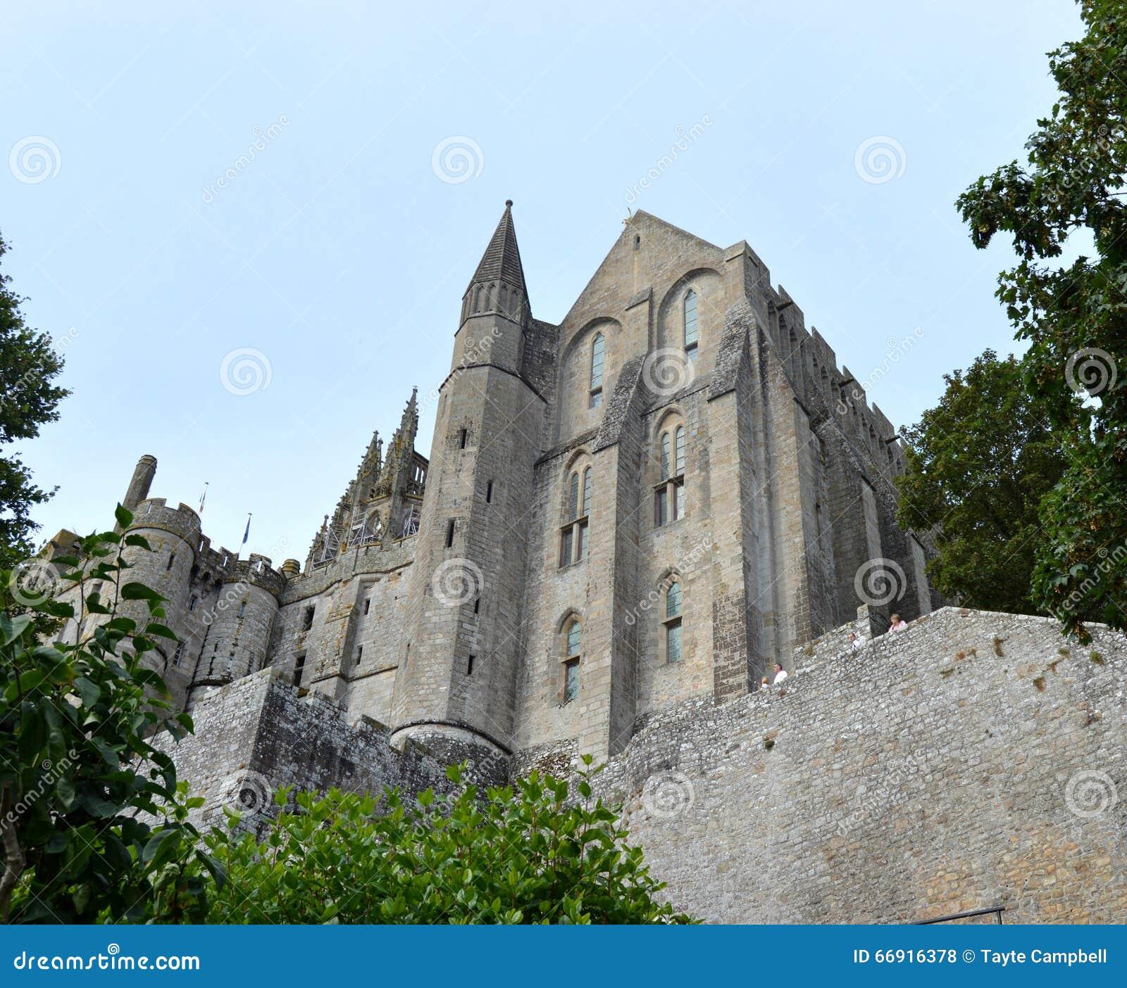Mont圣徒米谢尔在诺曼底法国