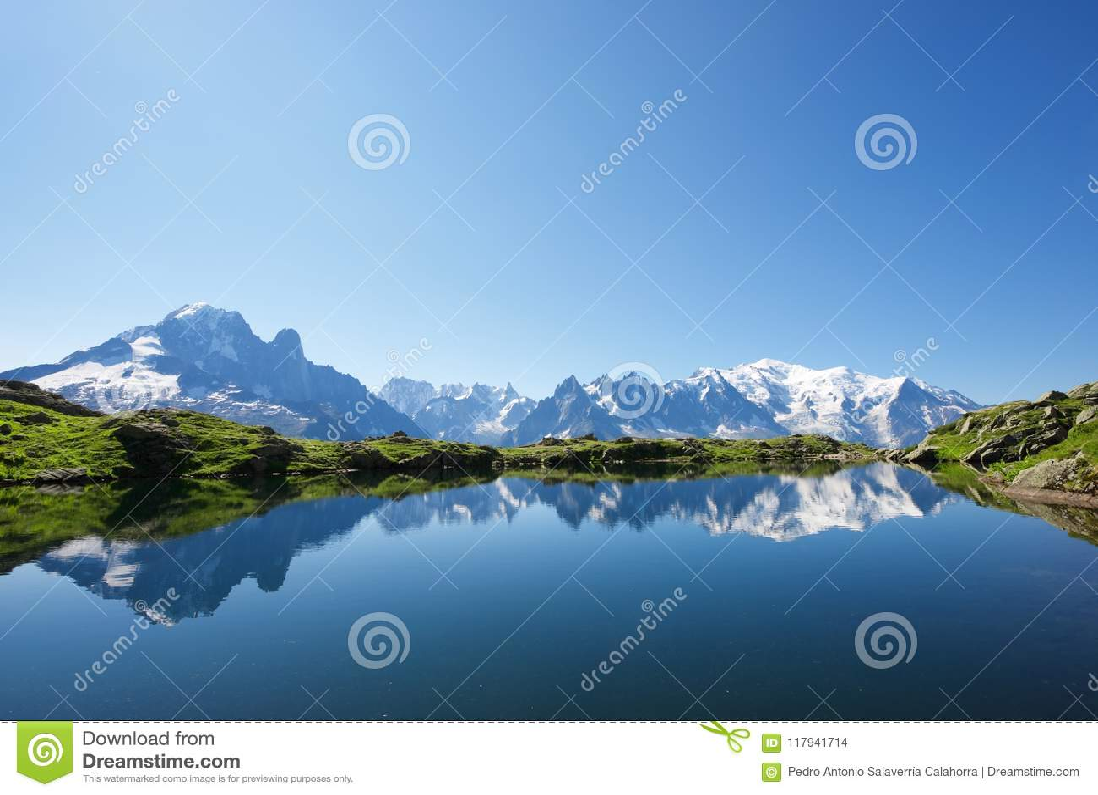 Alps in Chamonix
