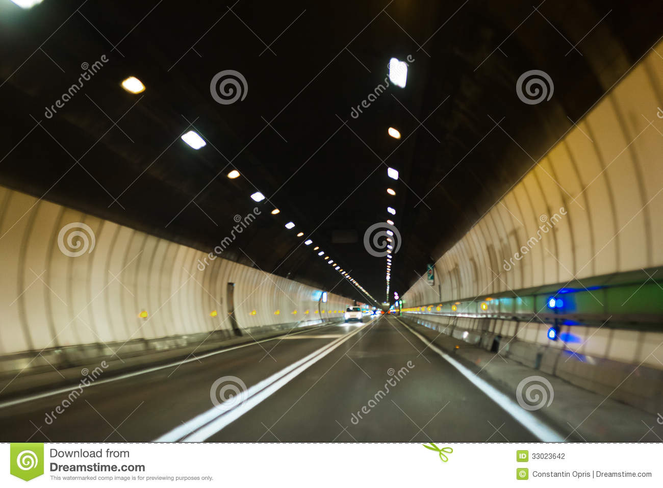Mont Blanc Tunnel Stock Photography Image 33023642