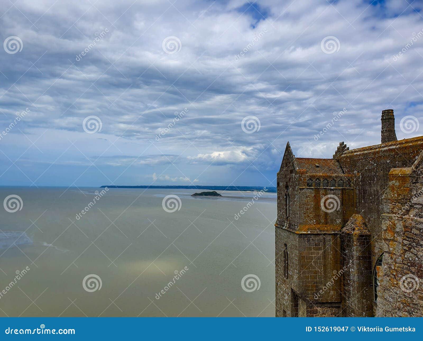 Mont Saint-Michel, Normandie, France du nord ?t? 2019