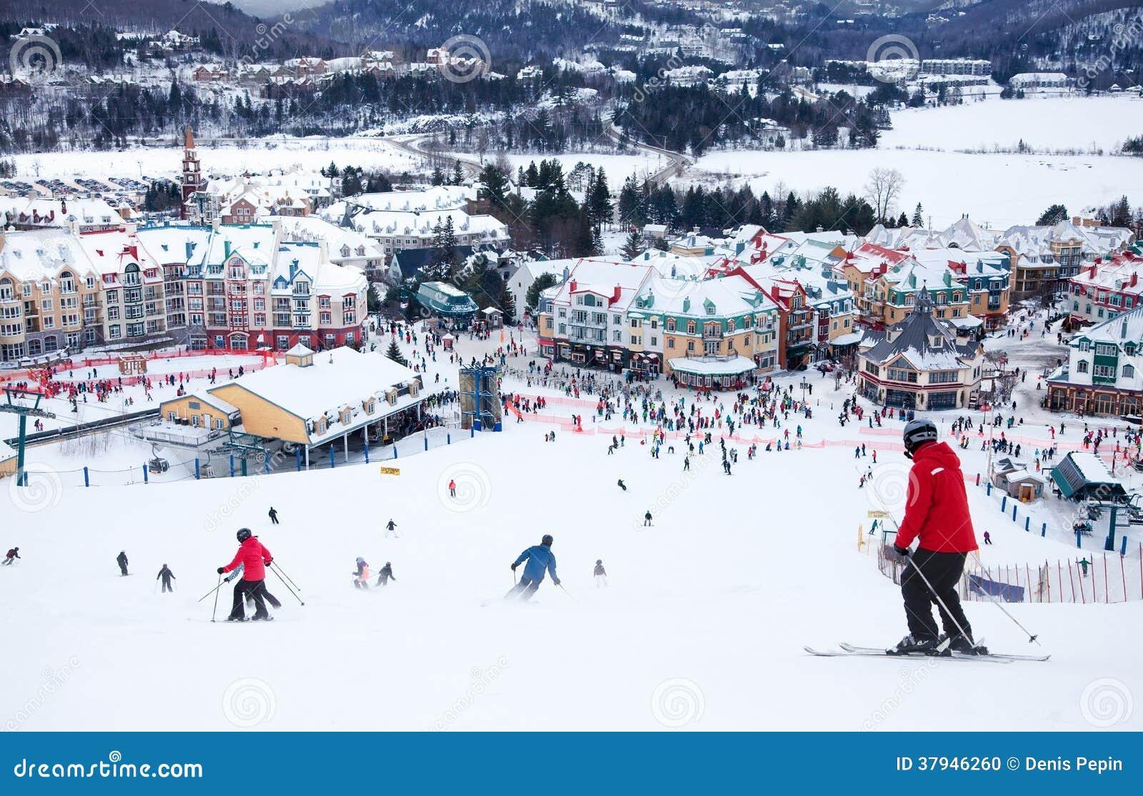 Mont-Tremblant Ski Resort, Québec, Canada