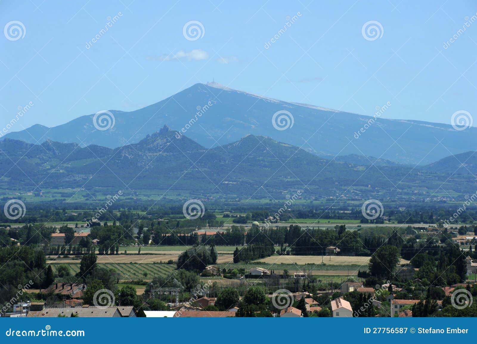 Mont Ventoux près d orange