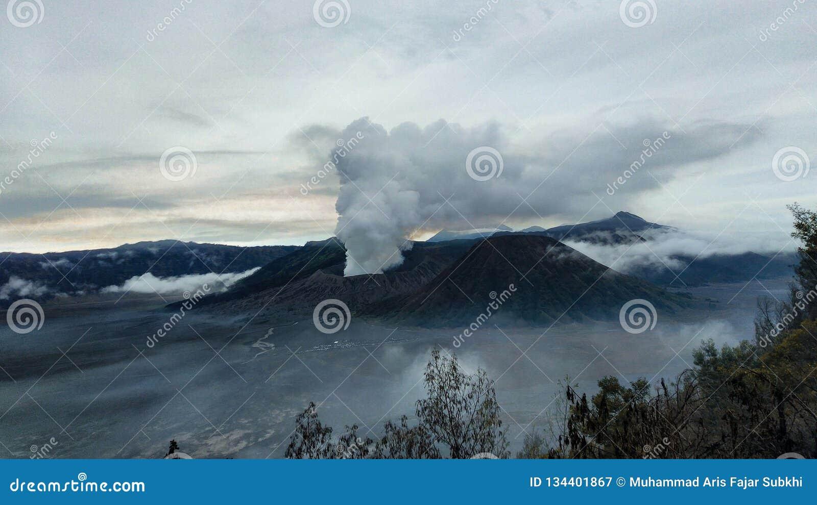 Montaña de Bromo