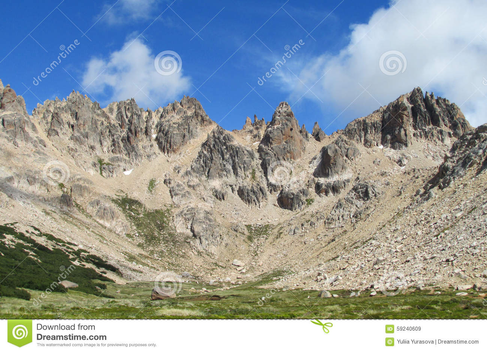Montaña de Cerro Catedral