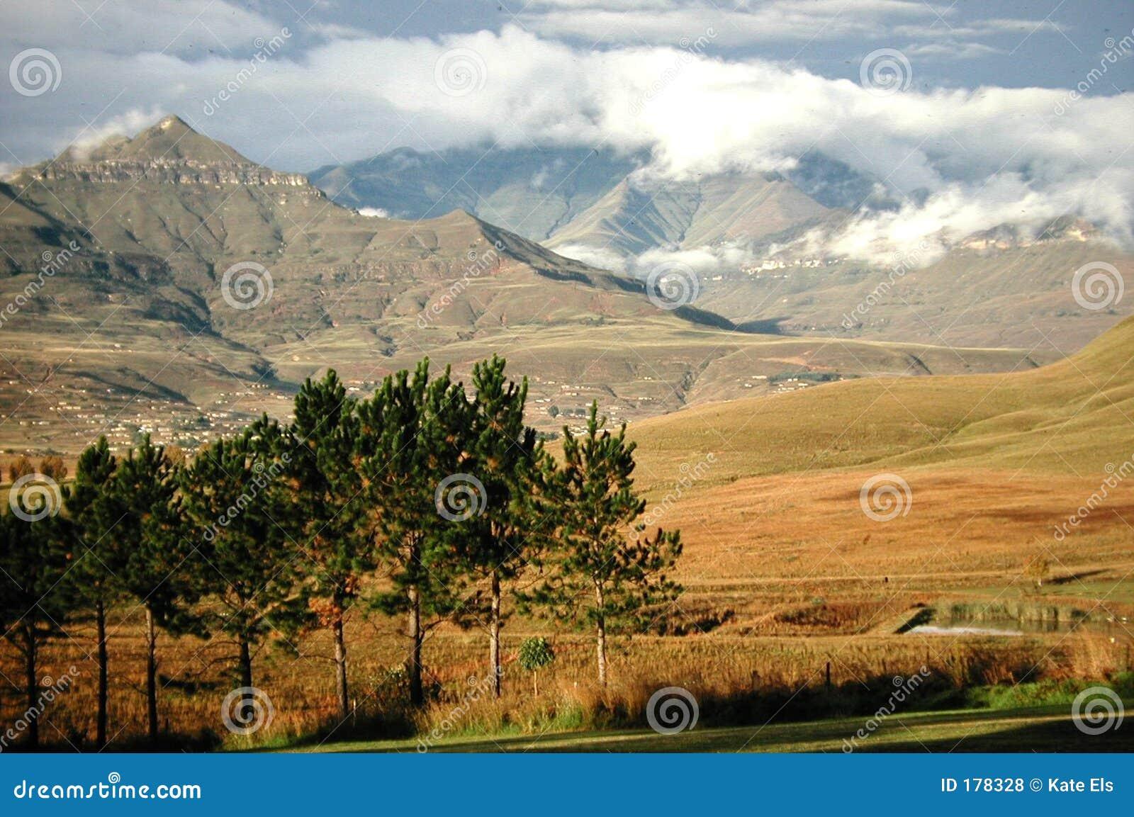 Montaña de Drakensberg