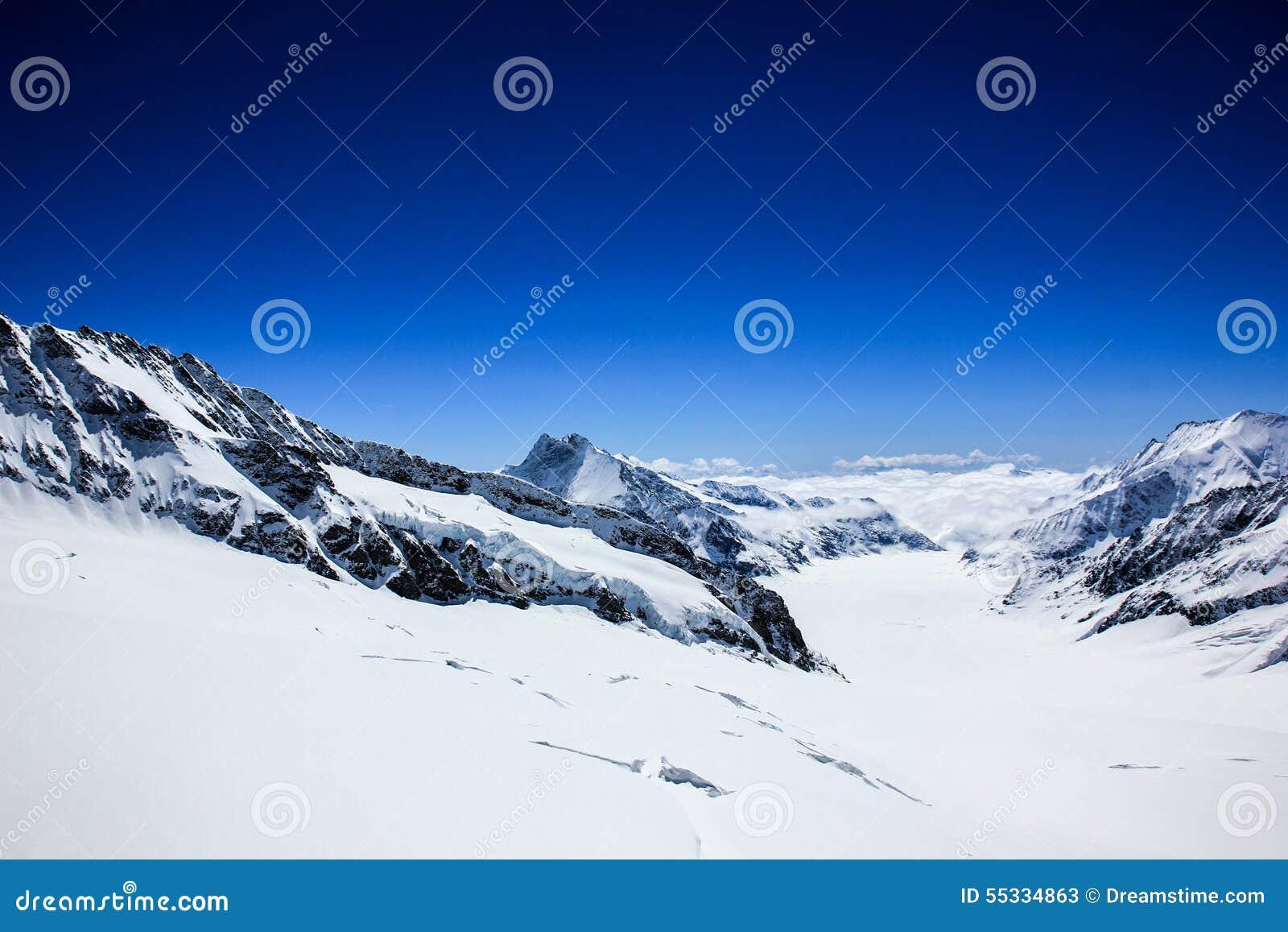 Montaña de Jungfrau del ‹del ¹ del à