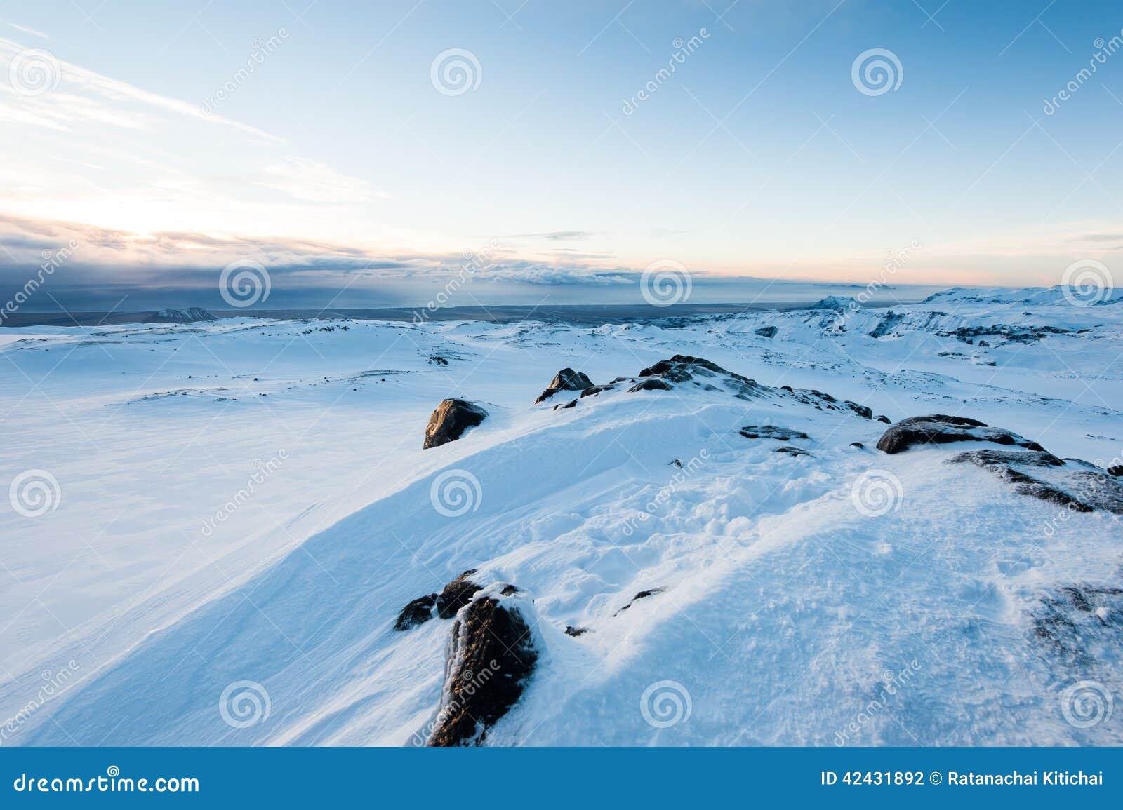 Montaña de la nieve