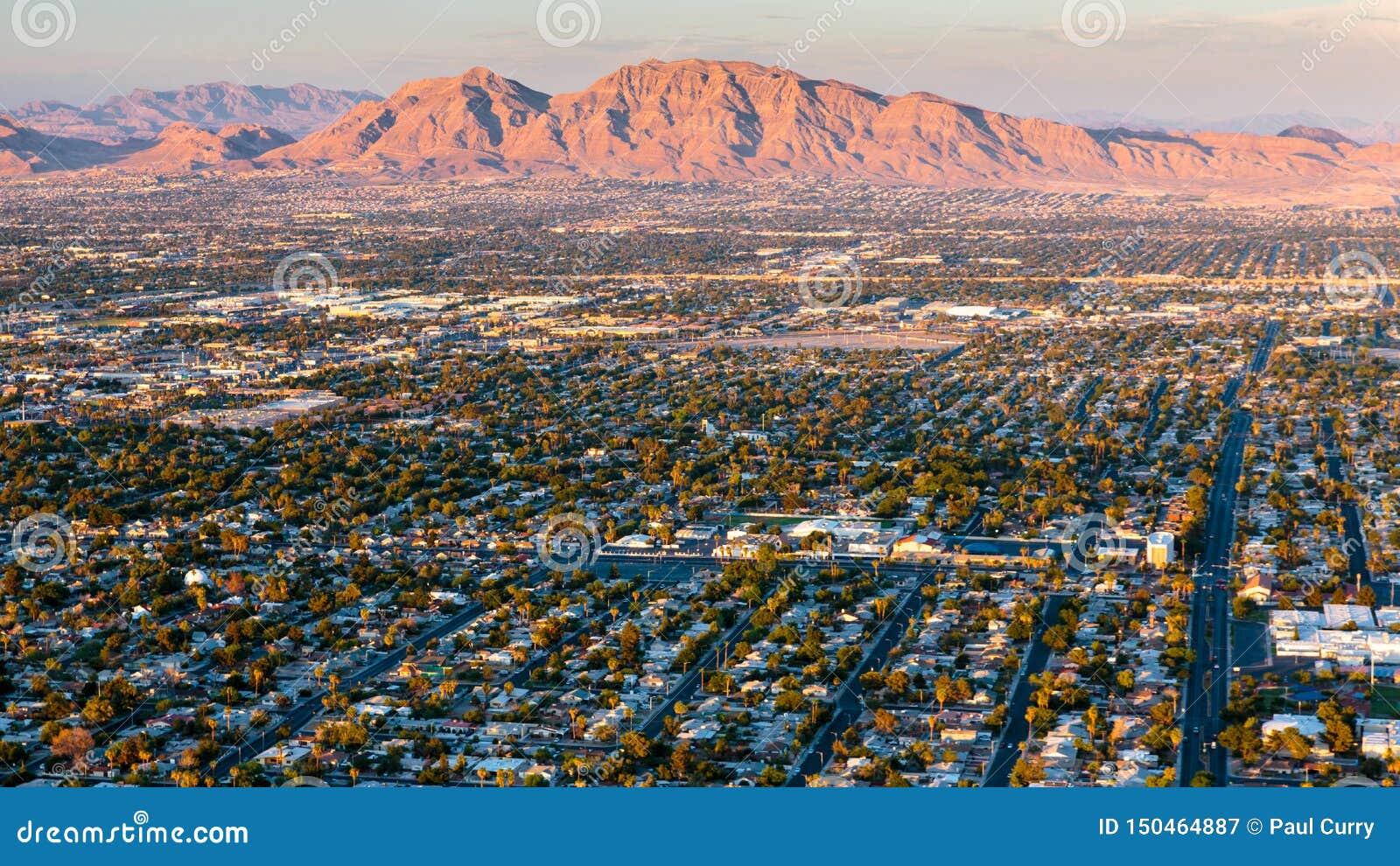 Montaña de la salida del sol de Las Vegas