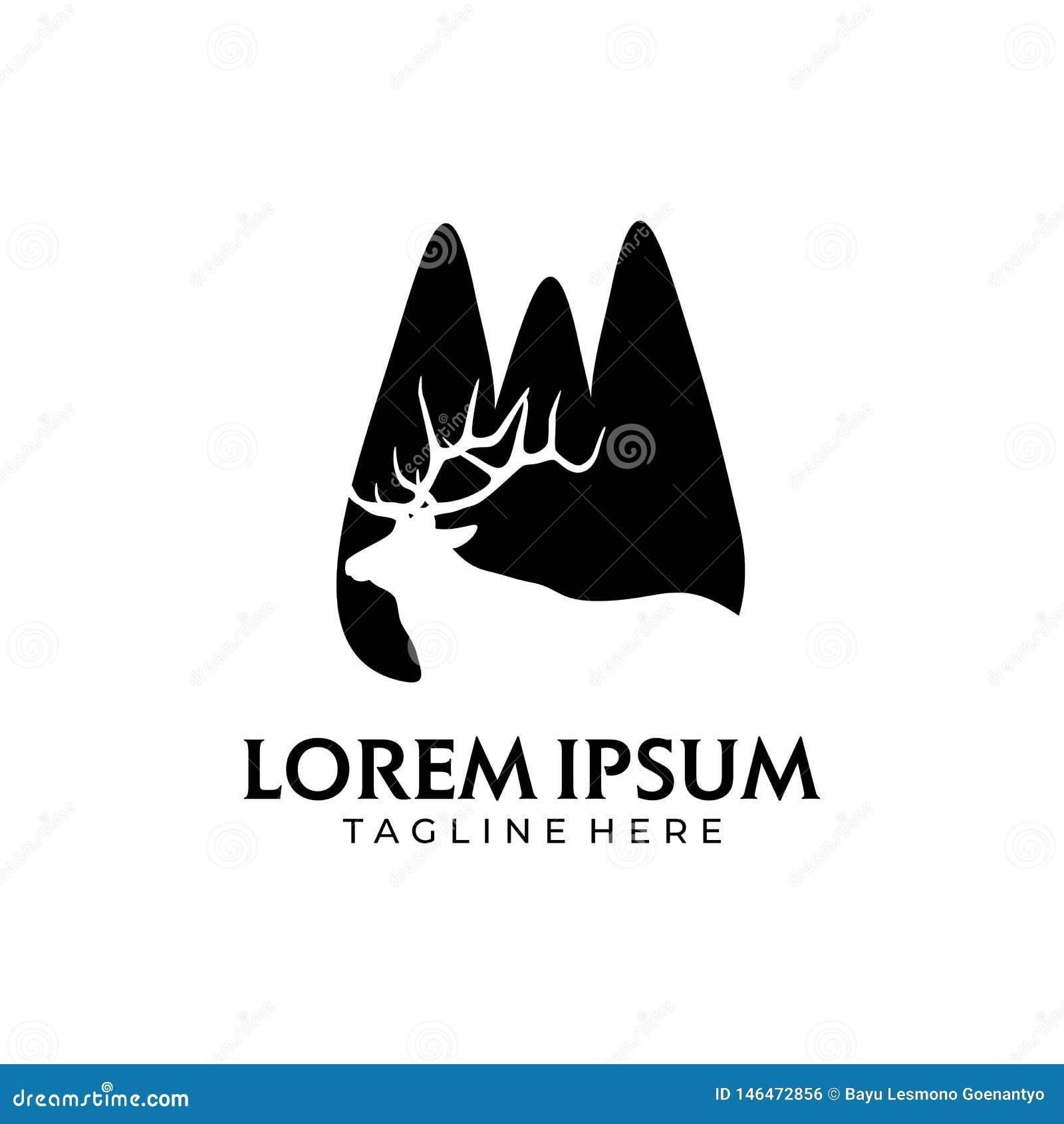 Montaña del lago deer