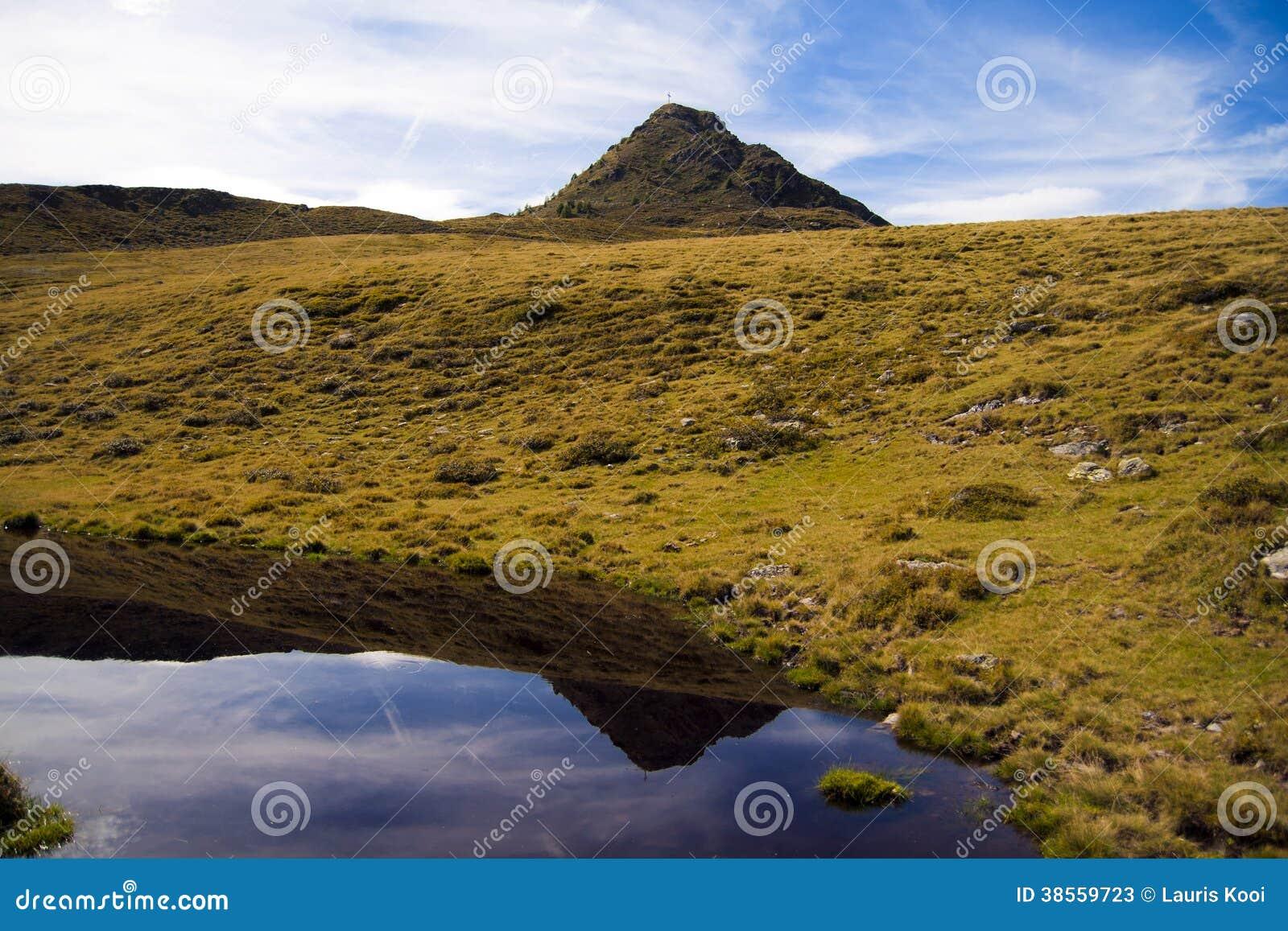 Montaña en Austria