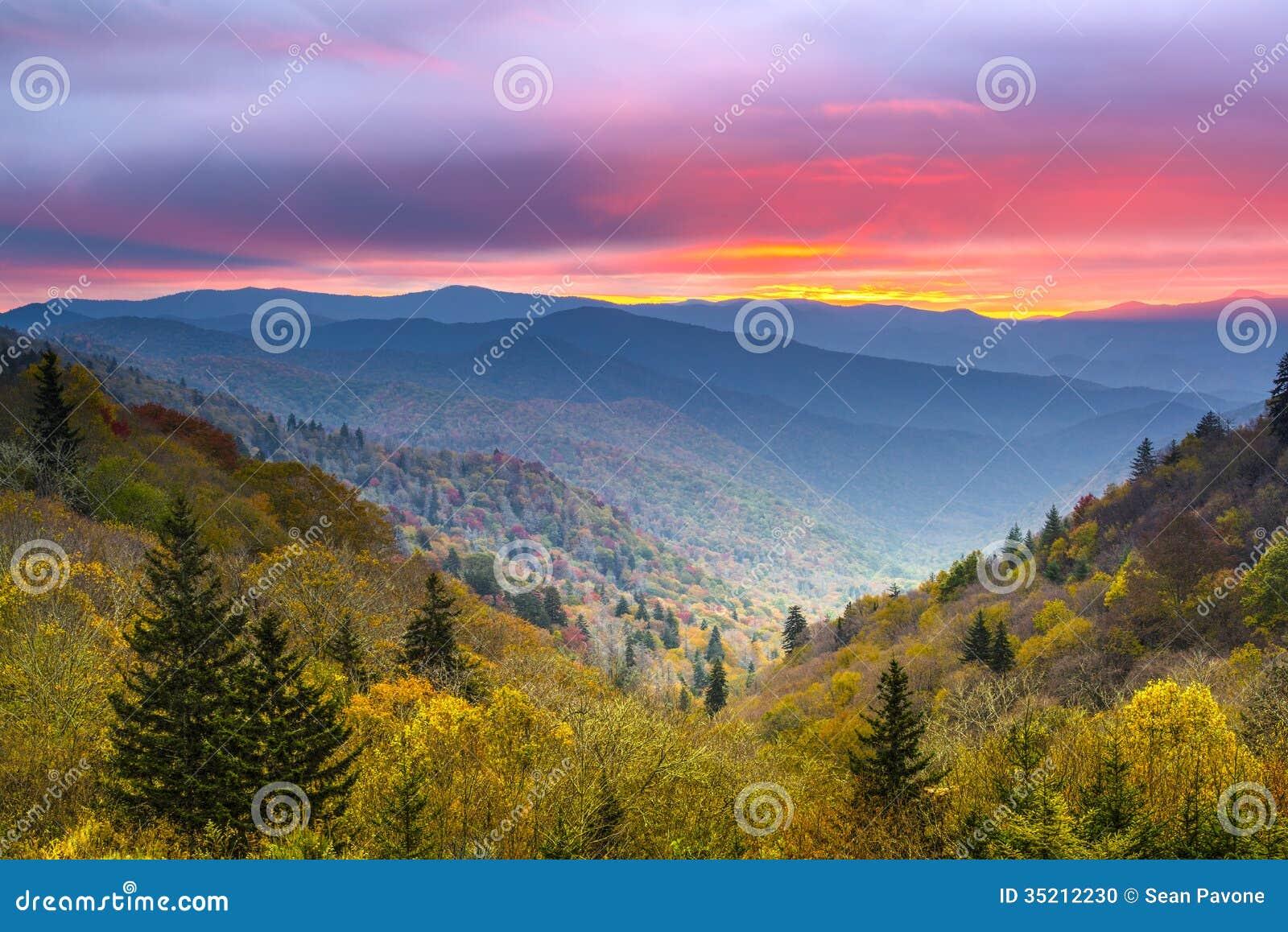 Montañas ahumadas