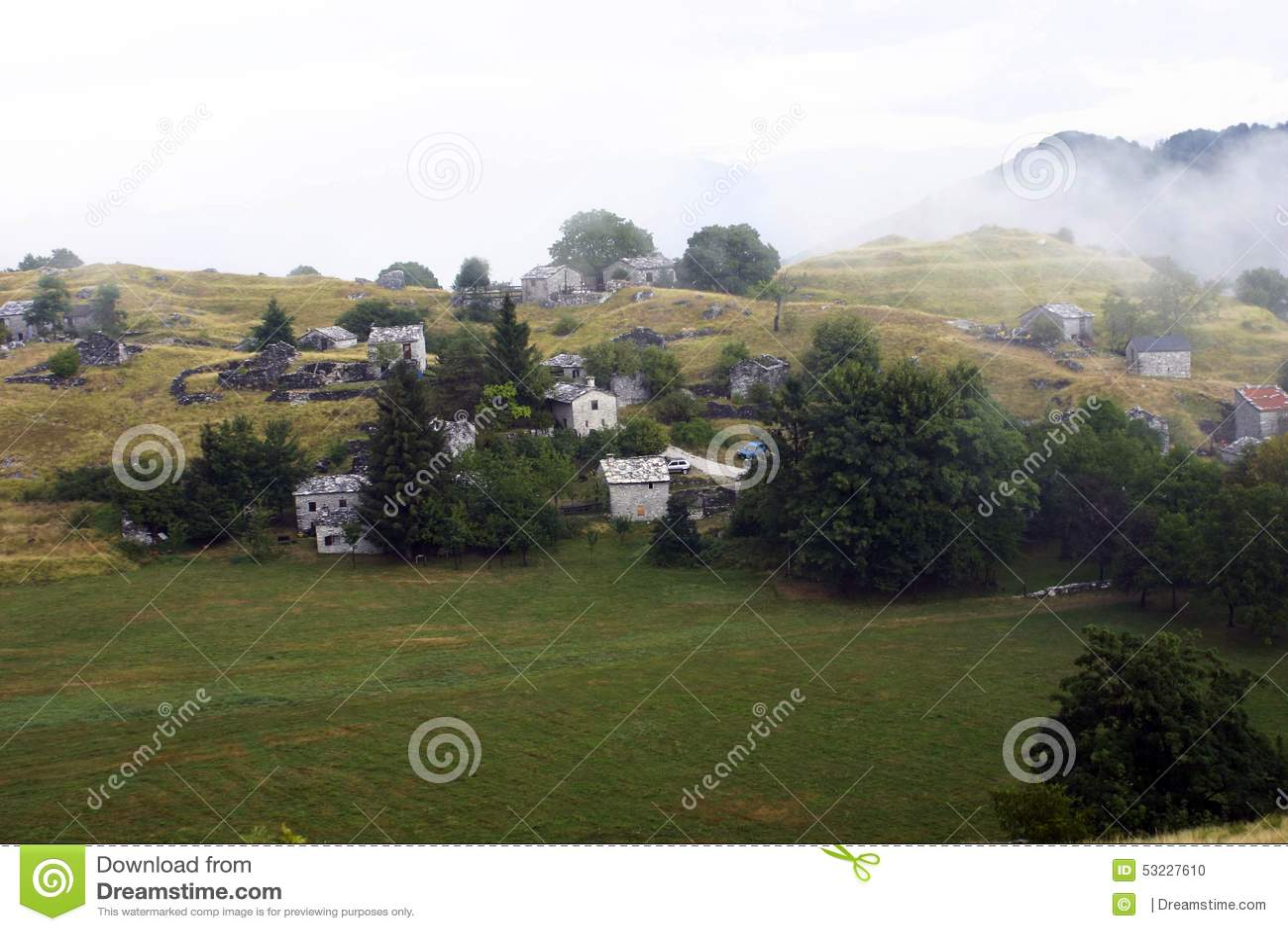Montañas Apuane en Toscana