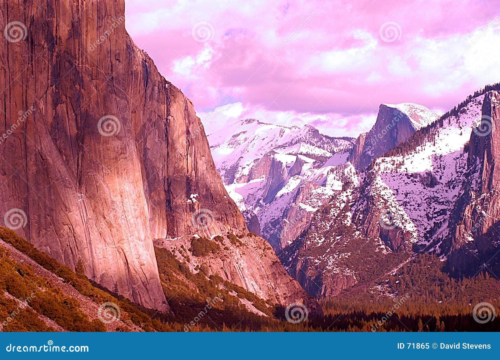 Montañas artísticas