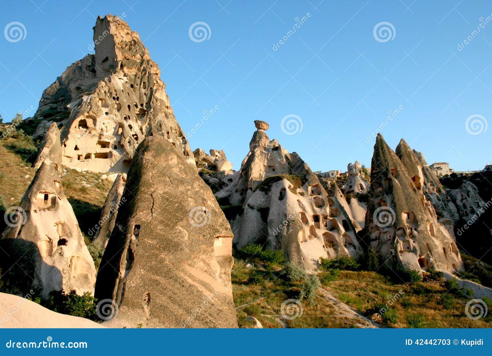 Montañas de Cappadocia