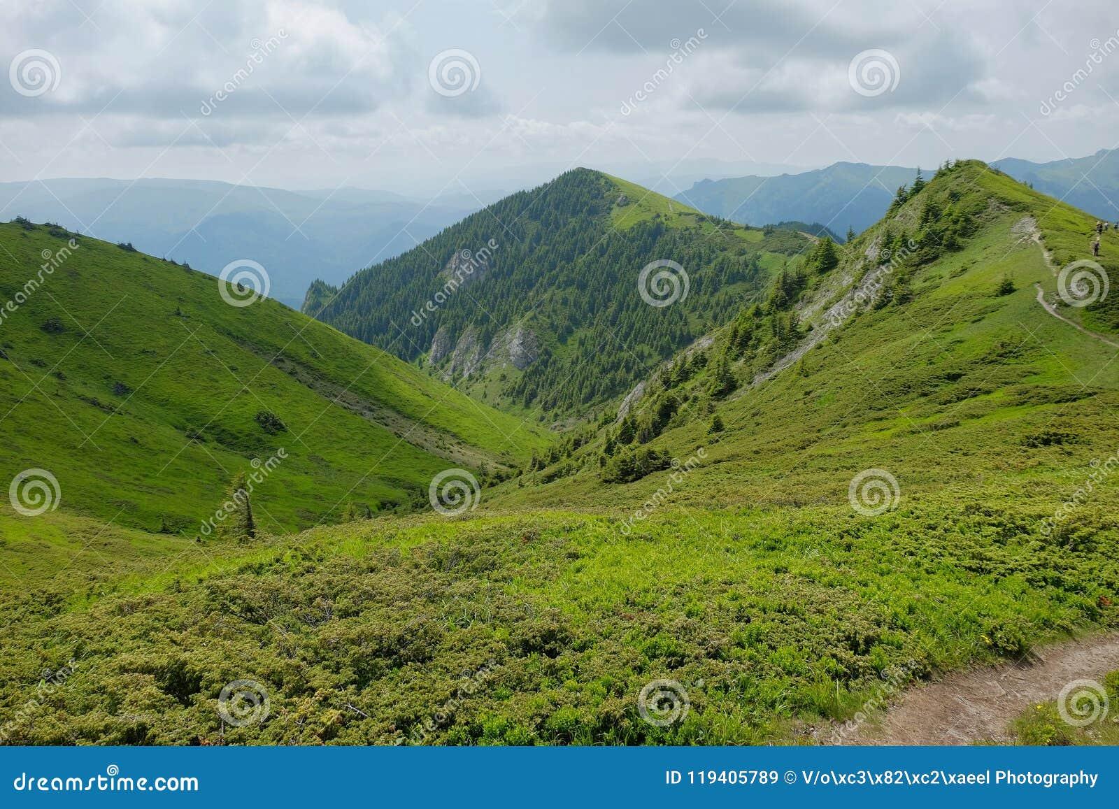 Montañas de Ciucas en Rumania