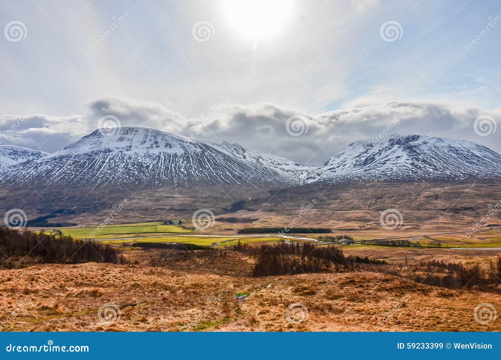 Montañas escocesas