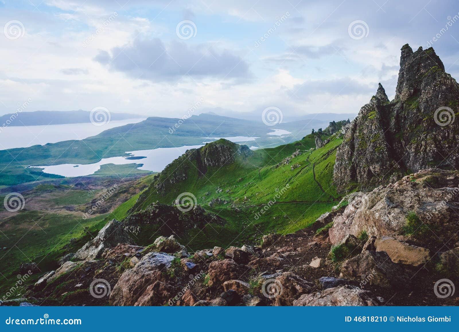 Montañas, isla de Skye