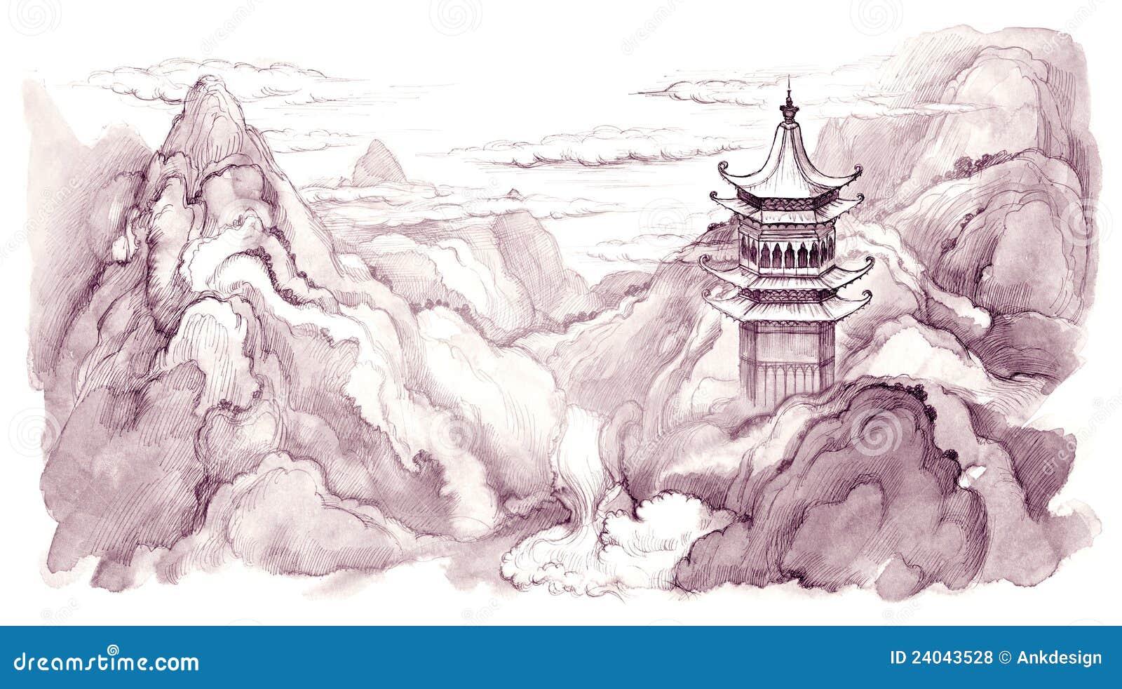 Montañas japonesas