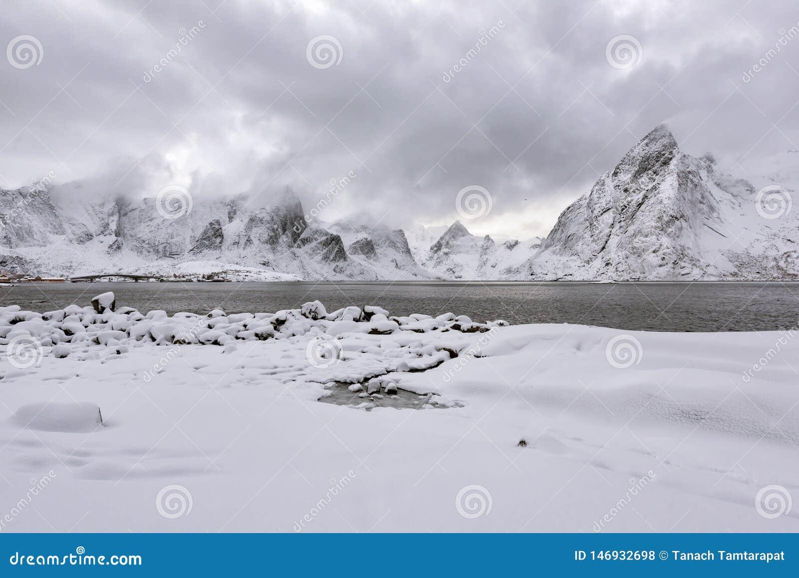 Montañas y áreas nevadas