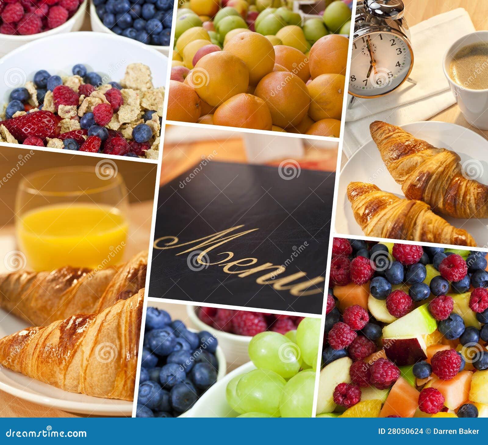 Montage Menu & Fresh Healthy Diet Food Lifestyle Stock ...