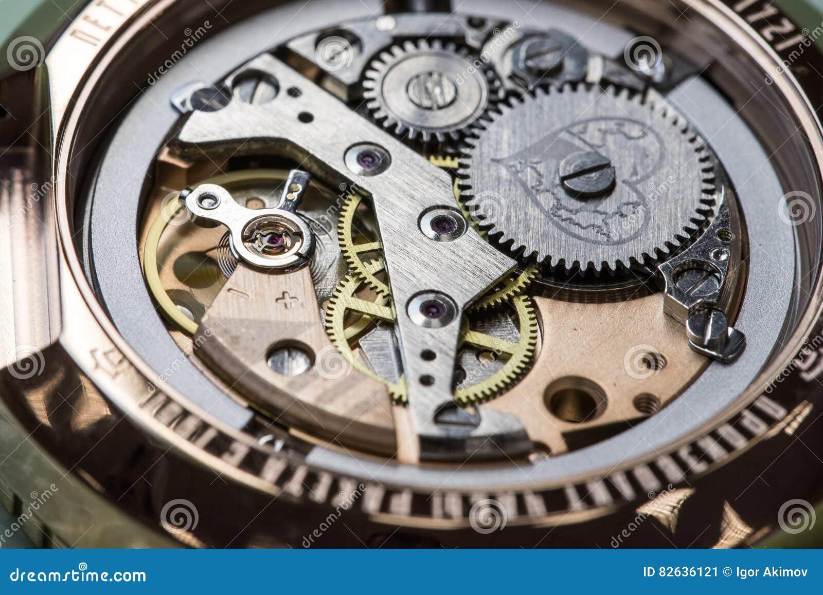 nuovi arrivi a1d97 a1425 Montaggio Dell'orologio Meccanico Fotografia Editoriale ...
