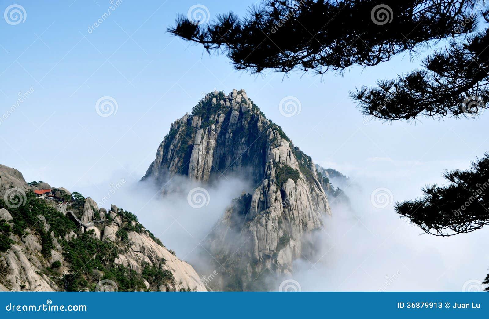 Download Montagna illustrazione di stock. Illustrazione di pino - 36879913