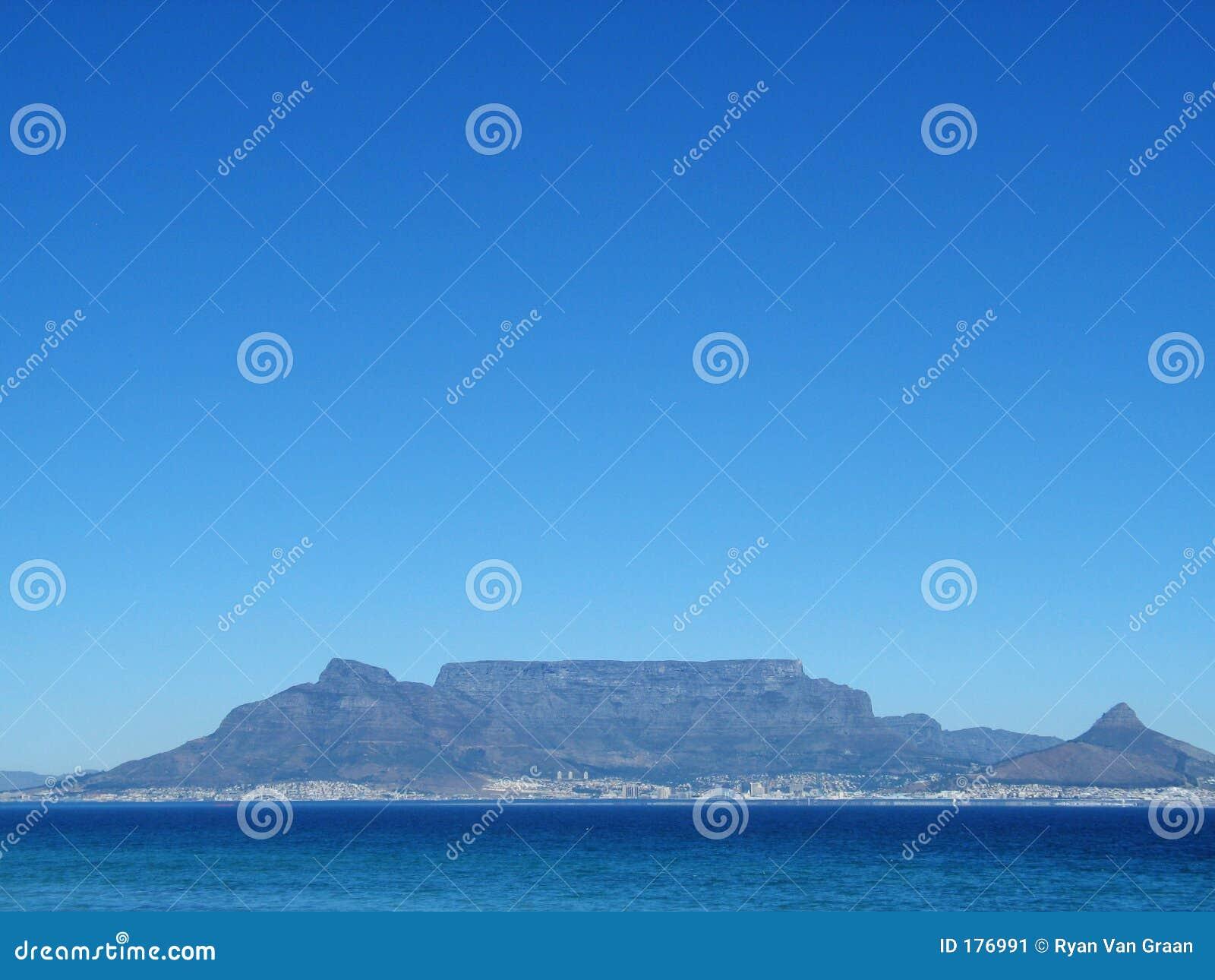 Montagna Città del Capo della Tabella