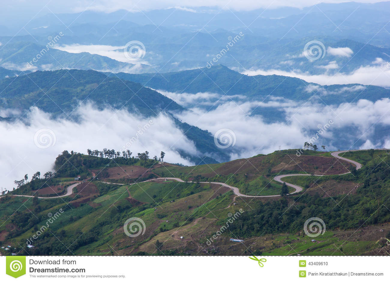Montagna di Phutabberk, Tailandia