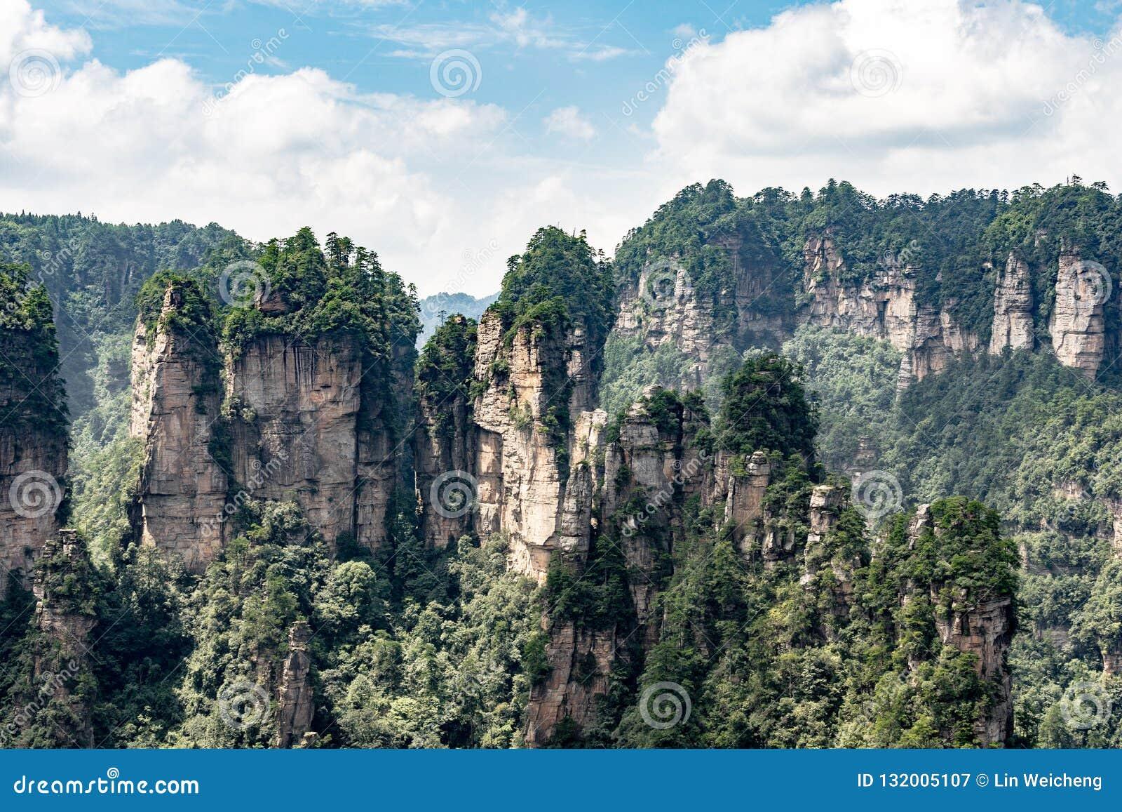 Montagna a Zhangjiajie