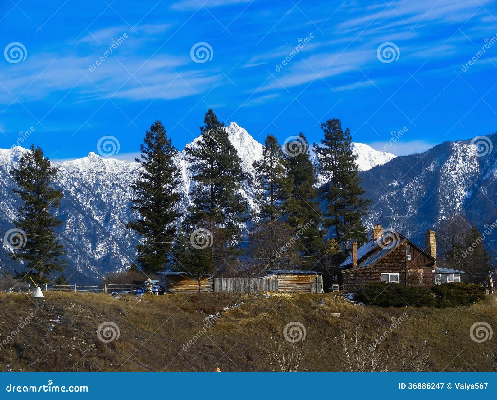 Download Montagne immagine stock. Immagine di ghiacciato, canada - 36886247