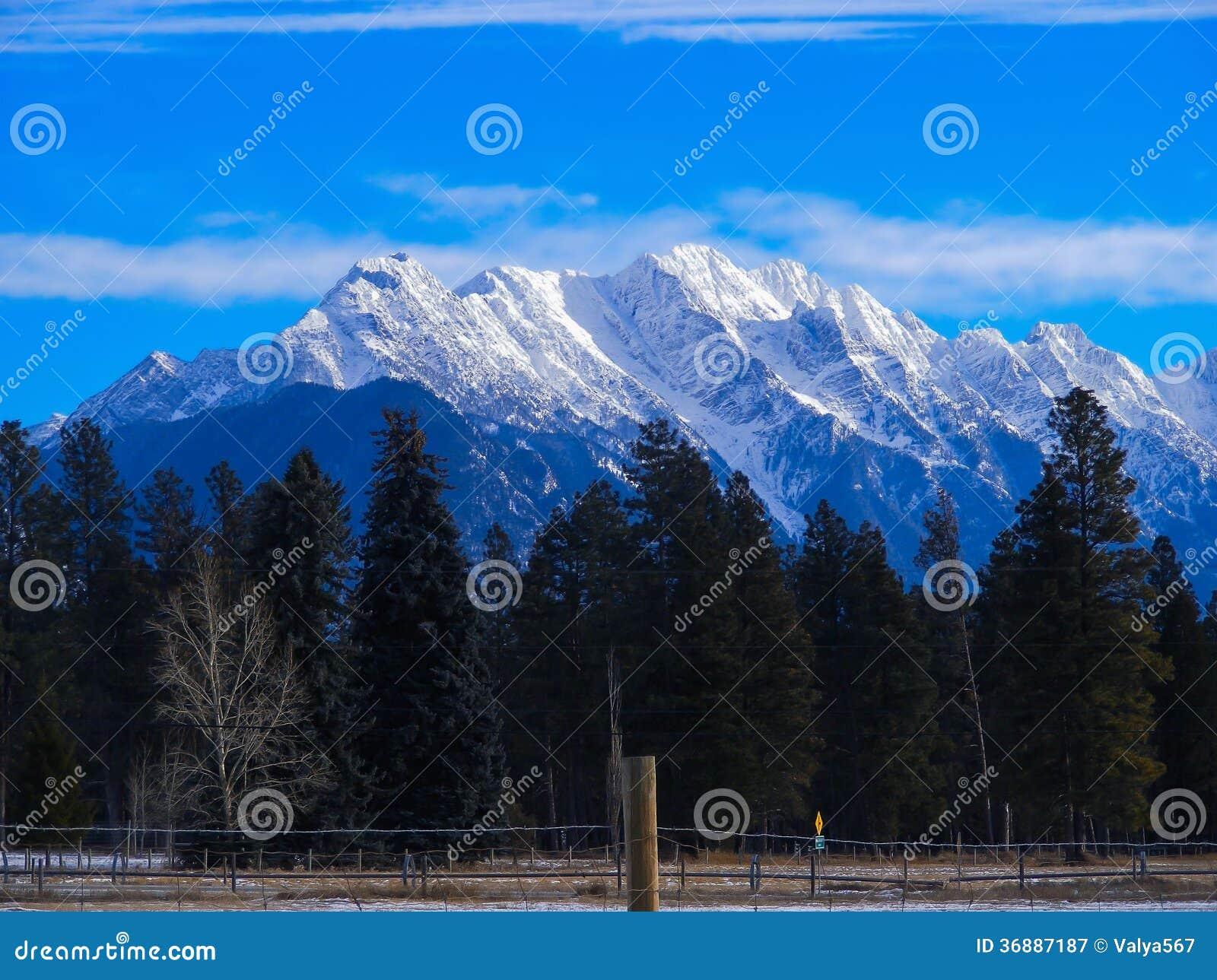 Download Montagne immagine stock. Immagine di dicembre, ghiaccio - 36887187