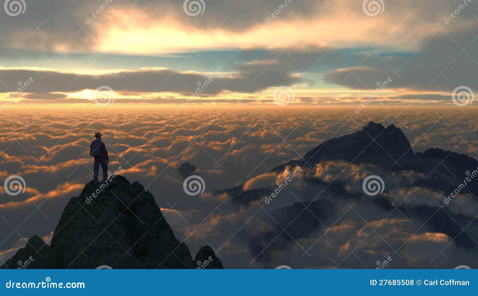 Montagne C1 de ciel