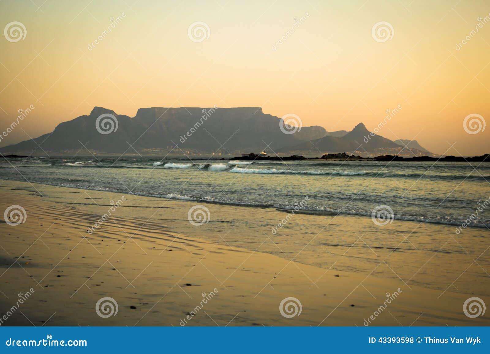 Montagne Capetown de Tableau