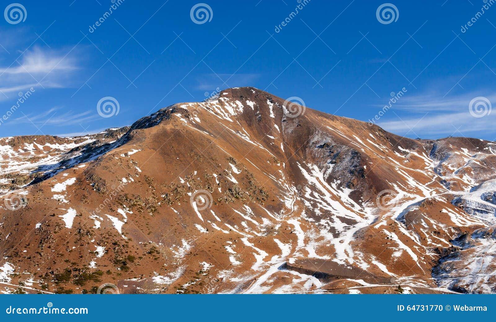 Montagne con neve - Pirenei