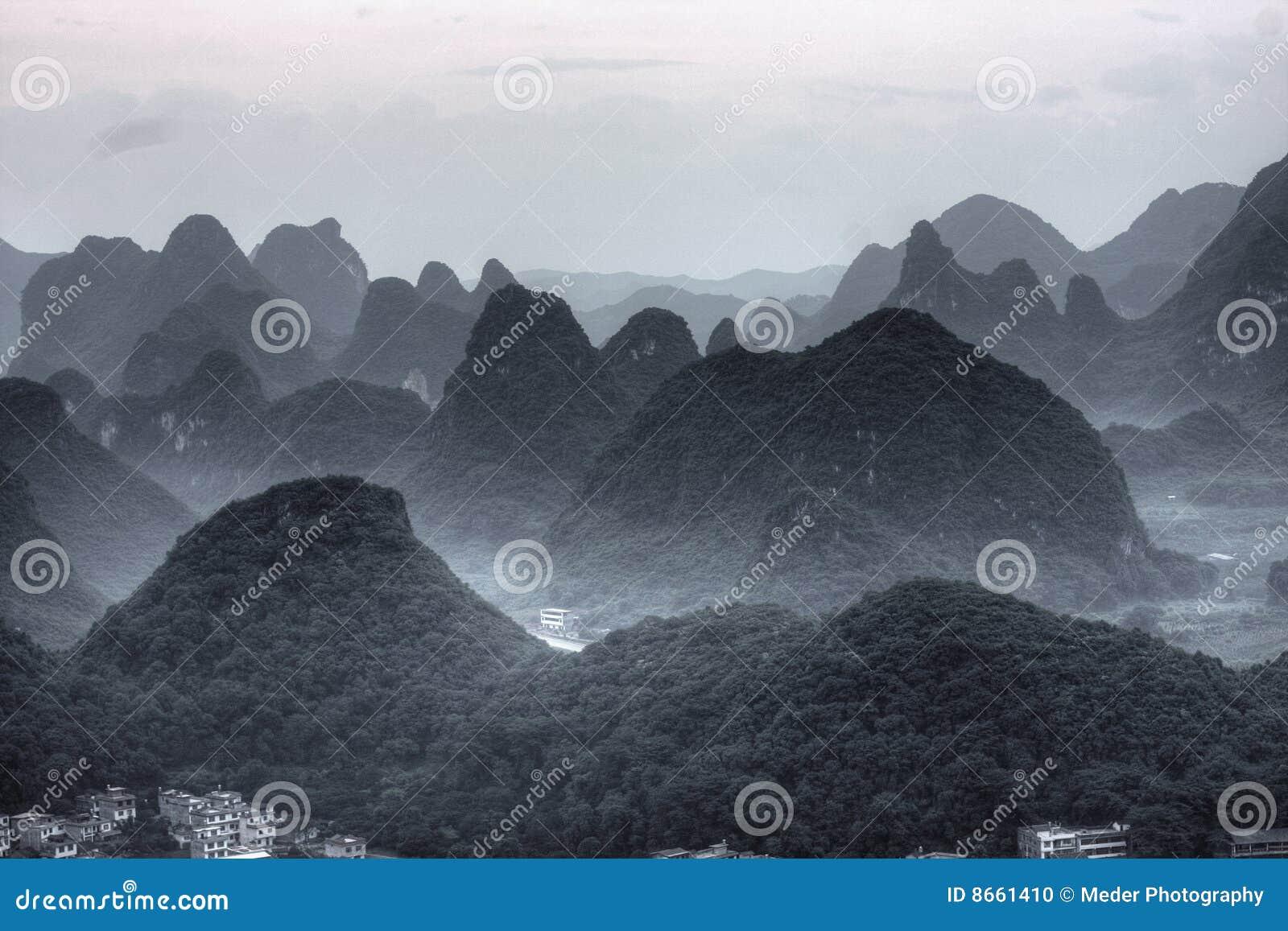 Montagne d horizontal