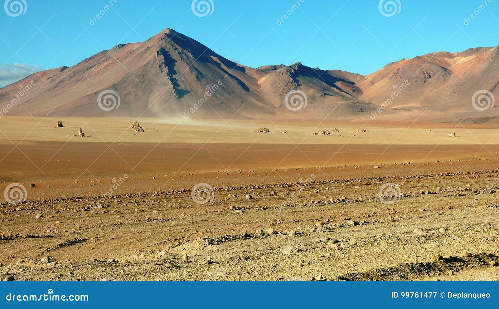 Montagne dans Altiplano La Bolivie, Amérique du Sud