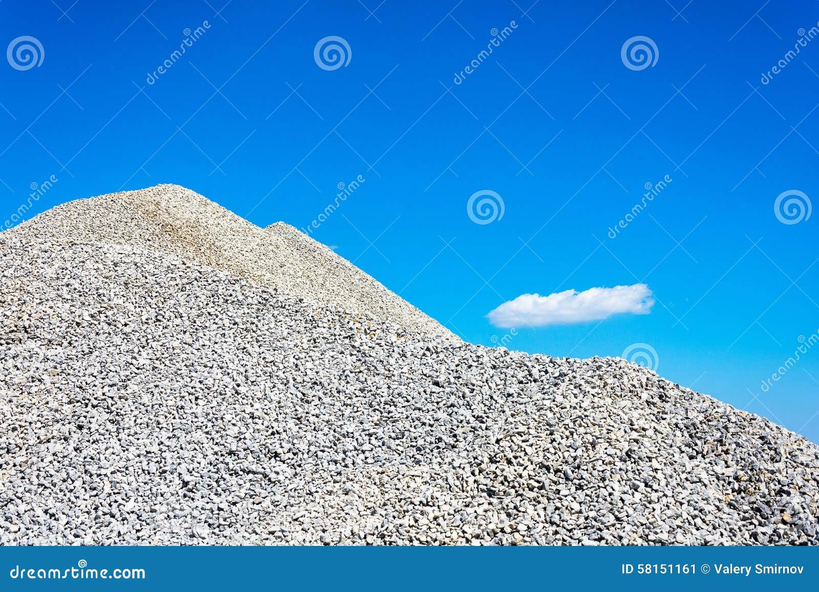 Montagne de blocaille