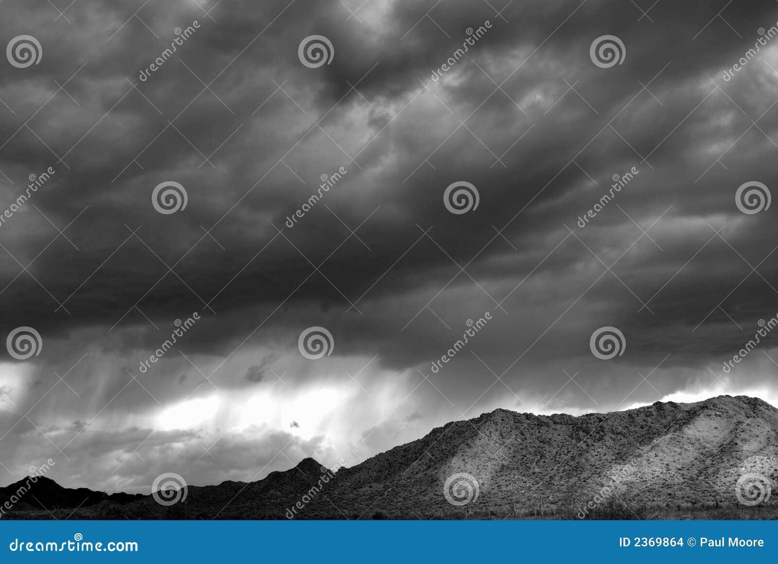 Montagne de désert