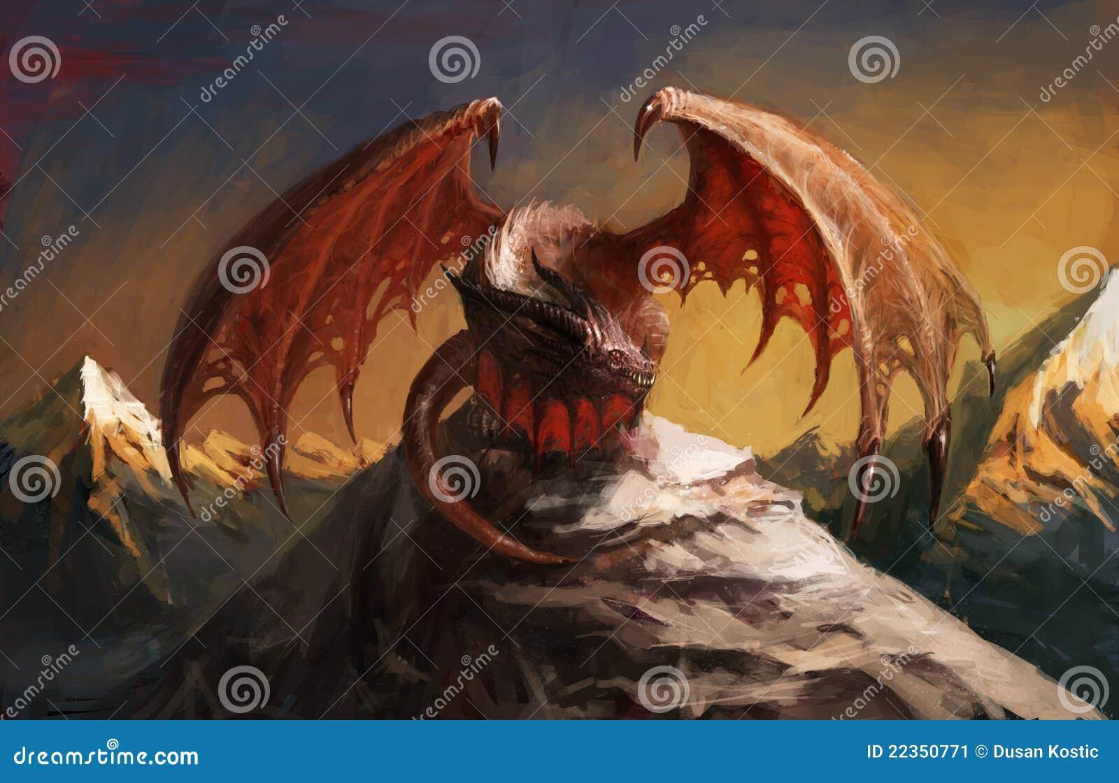 Montagne de dragon