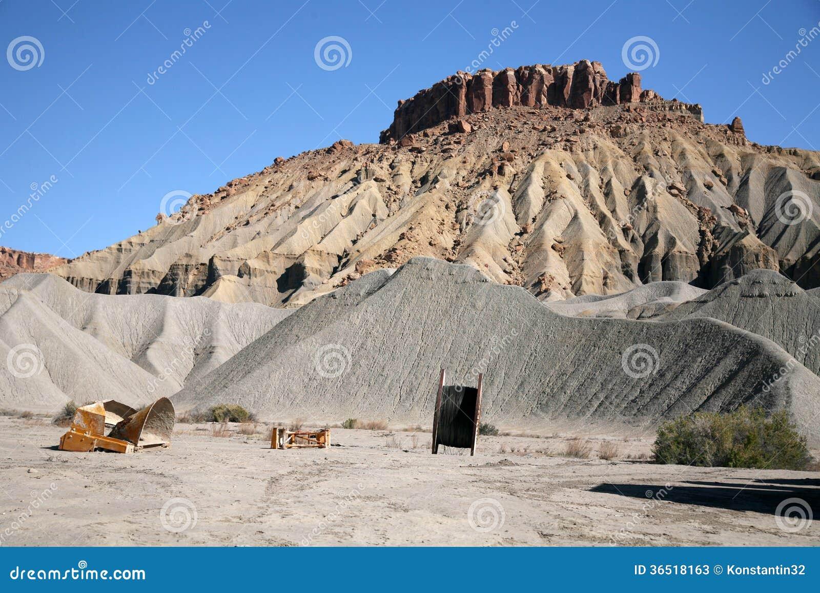Montagne de roche et de sable, Utah, Etats-Unis
