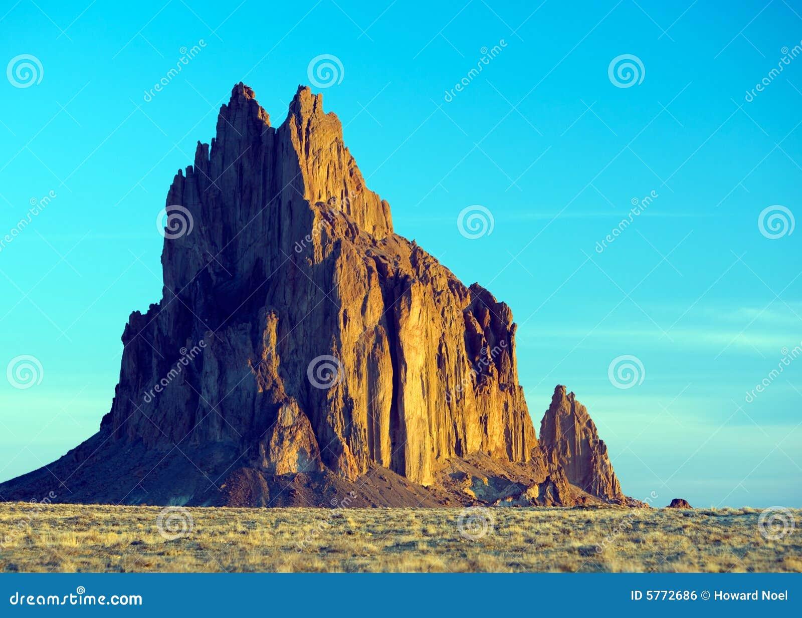 Montagne de Shiprock, Mexique