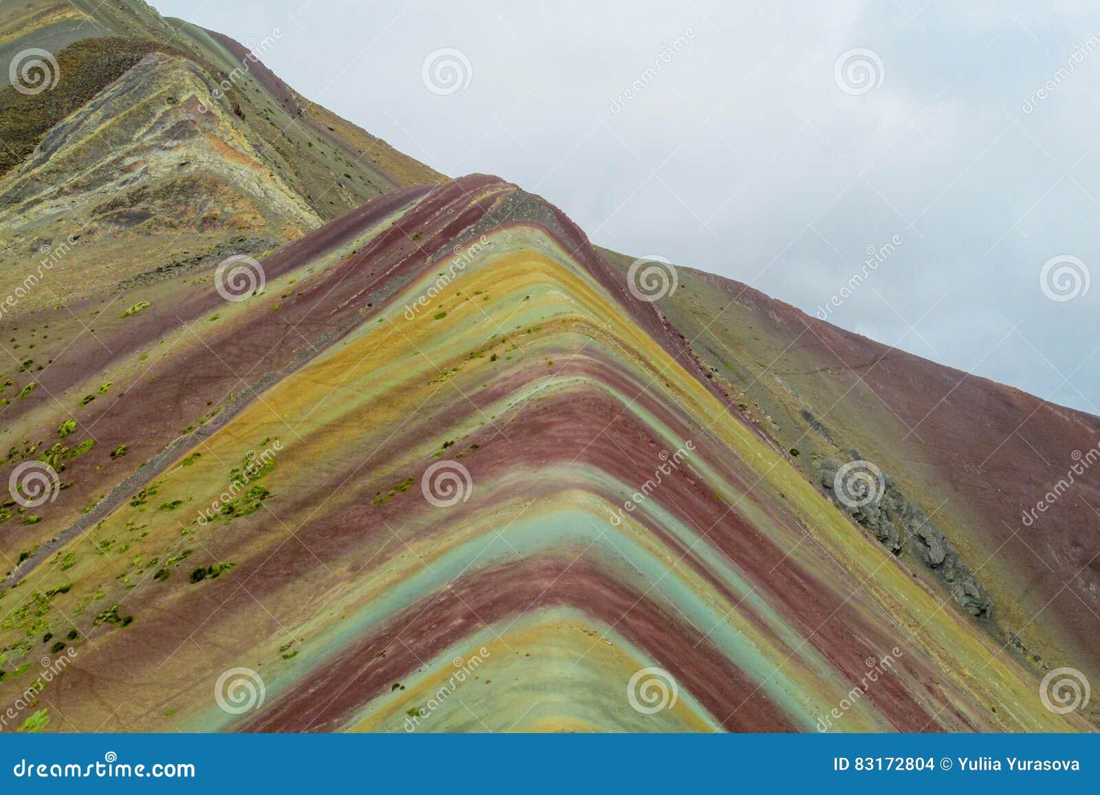 Montagne de Siete Colores près de Cuzco